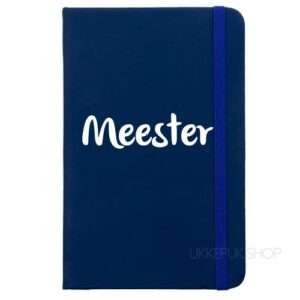 cadeau-meester-school-kerst-verjaardag-afscheid-juffendag-meester-leerkracht-lerares-schooljaar-notitieboek-zwart