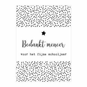 kaart-ansichtkaart-bedankt-juf-meester-schooljaar-einde-school-vakantie-bedankt-meneer-voor-het-fijne-schooljaar