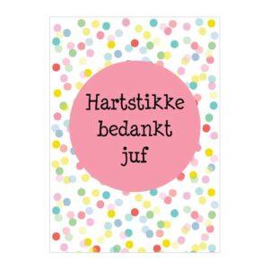 kaart-hartstikke-bedankt-juf-confetti-schooljaar-einde-school-vakantie-bedankt-lieve-juf-voor-het-fijne-schooljaar