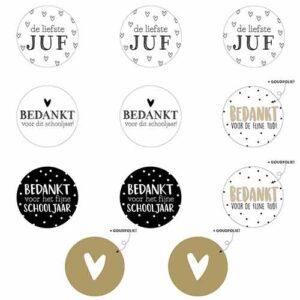 stickers-assortiment-juf-lerares-juffrouw-bedankt-schooljaar-kado-cadeau-school-basisschool