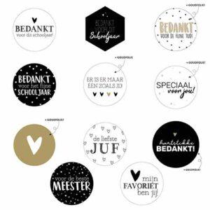 stickers-assortiment-juf-meester-leraar-school-basisschool-juffendag-kado-cadeau